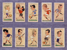 "Football Caricatures By"" Mac"" 1927 John Player Cig Card  -Select From Below"