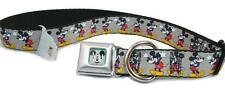 Disney Cool Mickey Mouse Seat Belt Buckle Dog Collars NWT