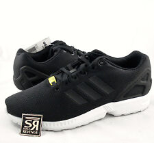 New adidas Originals Mens ZX Flux Shoes Black White zxz flyknit 8000 yellow