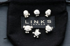 Links Of London Mr Men & Little Miss Sterling 925 Silver Play Beads Slider