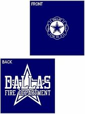 """Dallas Fire Department DFD Texas """"The Big D"""" Duty Style T-SHIRT Tee"""