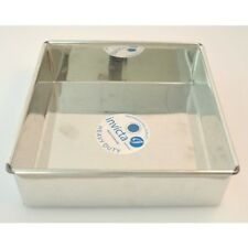 Invicta Single Square Cake Baking Tins Various Sizes for Birthdays & Weddings