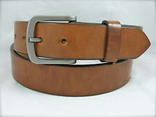 BURCH 1.5 Lag Sand Blast Solid Titanium buckle & super thick Harness leather