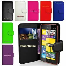 Flip Leather Wallet Case Cover For Various Nokia Lumia Mobile Phone