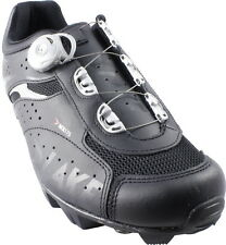 LAKE MX175-X BOA WIDE FIT MTB BIKE SHOES BLACK 2013