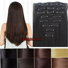 cheap price clip in hair extension 8 pcs full head Real quality women love style