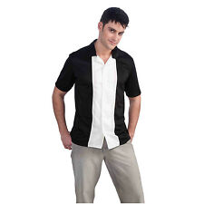 Charlie Harper Bowling Shirt Adult Sheen Button Down Costume Two And A Half Men