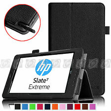 Fintie HP Slate 7 Extreme (Model 4400) Folio Case - Premium Leather Stand Cover