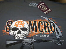 SONS OF ANARCHY SAMCRO CIRCLE CHAIN T-SHIRT NEW !