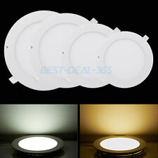 Energy Saving Led Panel Light Recessed Ceiling DownLight Lamp SMD Round/Square