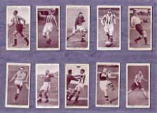 Churchman 1938 Assoc Footballers 'A' Series Cards  -Select From Below