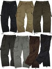 BNWT: Big&Tall MENS  sizes:44-54  MILITARY-STYLE ASSORTED COLORS CARGO PANTS