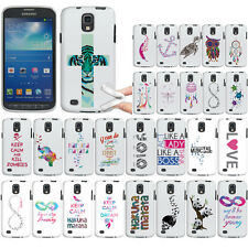 For Samsung Galaxy S4 Active I537 I9295 Case TPU Soft Cover Feather Of A Skull
