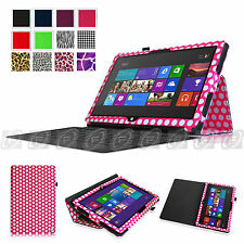 """Fintie Pattern Folio Stand Case Cover For 10.6"""" Microsoft Surface Windows 8 RT 2"""
