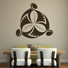 Clover Centre Wall Stickers Nature Wall Decal Art