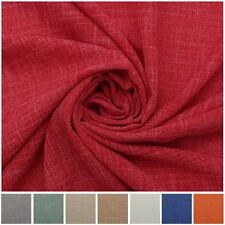 LIGHTWEIGHT LINEN LOOK DRESS MAKING LINING CLOTHING CRAFTS QUILTING FABRIC