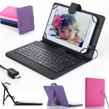 """Leather Case Cover USB Keyboard for 8"""" inch Tablet Samsung Galaxy Note 8.0"""