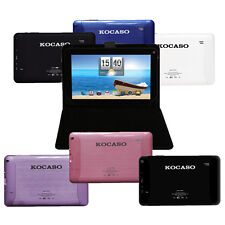 """KOCASO Dual Cam Tablet Android 4.2 9"""" Dual Core 1.5GHz8GB, Carrying Case Bundle"""