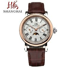 Affordable Shanghai S017 Automatic Mechanical wrist Watches for men self winding