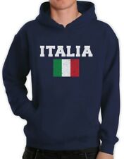 ITALIA FLAG Hoodie World Cup 2014 Distressed Italy Forza Italian Pride Flag Fan