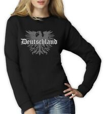Deutschland Eagle Women Sweatshirt Germany Soccer Football World Cup 2015 Jumper