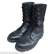 Austrian Military Assault Combat Black Leather Boot Speed lace Used Army Surplus