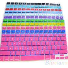 11 Colors Silicone Keyboard Cover for Apple Macbook Pro MAC 13 15 17 Air 13 BE8A