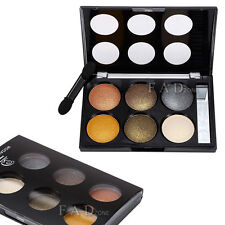Fashion Neutral Warm Eyeshadow Makeup Palette Smoky Shimmer Shade Contour Powder