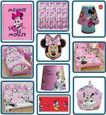 Minnie Mouse Kids Bedroom Product Range - Bedding, Curtains, Decoration
