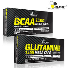 BCAA + L-Glutamine Blisters 60-180 Caps Branched Chain Amino Acids Whey Recovery