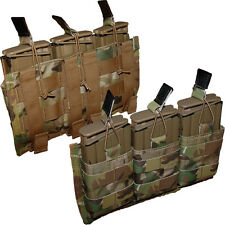 ATS Tactical Triple AR 7.62 Shingle Magazine Pouch-Multicam-Kryptek-Coyote-RG-BK