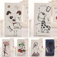 Flip PU Leather Case Protection Cover For Apple Iphone Ipod Touch Smartphone New