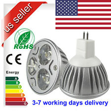 MR16 9W GU5.3 Spot light CREE 3x3W power Home indoor LED lamp Bulb 12V US STOCK