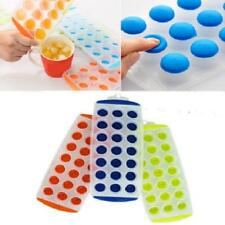 Lot of 3 Silicone Easy Pop Out Ice Cube Trays New Sale Price Reduced USA Seller