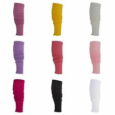 (Free PnP) Clearance Ladies/Womens Plain Tight Fitted Winter Leg Warmers UK 8-10
