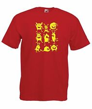 MONSTER funny party present halloween NEW Boys Girls T SHIRT TOP Age 1-15 Years