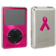 For Apple iPod Classic Hard Case Cover 80gb 120gb 160gb Cancer Awareness Ribbon