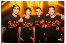 The Wanted All Time Low Group Large Wall Poster New