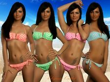 New Bandeau Bikini for Girls and Teenies with Cute Ruffles 30,32,34