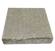 mp01t  Pale Olive Gold Thick Folds Shimmer Velvet 3D Box Sofa Seat Cushion Cover
