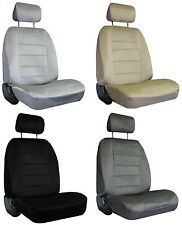 for 1998-2004 DODGE INTREPID 2 Quilted Velour Encore Solid Colors Seat Covers