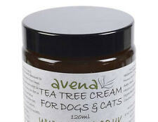 Dog & Cat Natural Tea Tree Cream - Ideal For all Skin problems. 60ml & 120ml