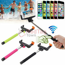 Bluetooth Wireless Self Portrait Extendable Monopod for iPhone 6/5S/5C/5/4S IOS