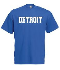 DETROIT sport game hockey us football soccer tee NEW Boys Girls Kids T SHIRT TOP