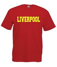 LIVERPOOL sport game football scouse soccer tee NEW Boys Girls Kids T SHIRT TOP