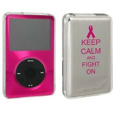 For Apple iPod Classic Hard Case Cover 80 120gb 160gb Keep Calm Fight On Cancer