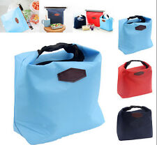 Convenient Insulated Small Portable Cooler Picnic Lunch Carry Tote Storage Bag F