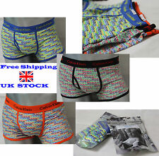 Mens Calvin Klein 365 Printed Short Trunk Black, Blue, Orange, All Sizes