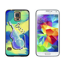 String Bass - Upright Bass Musical Instrument Music Strings - Case for Galaxy S5