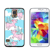 Flying Pig - When Pigs Fly - Snap On Hard Protective Case for Samsung Galaxy S5